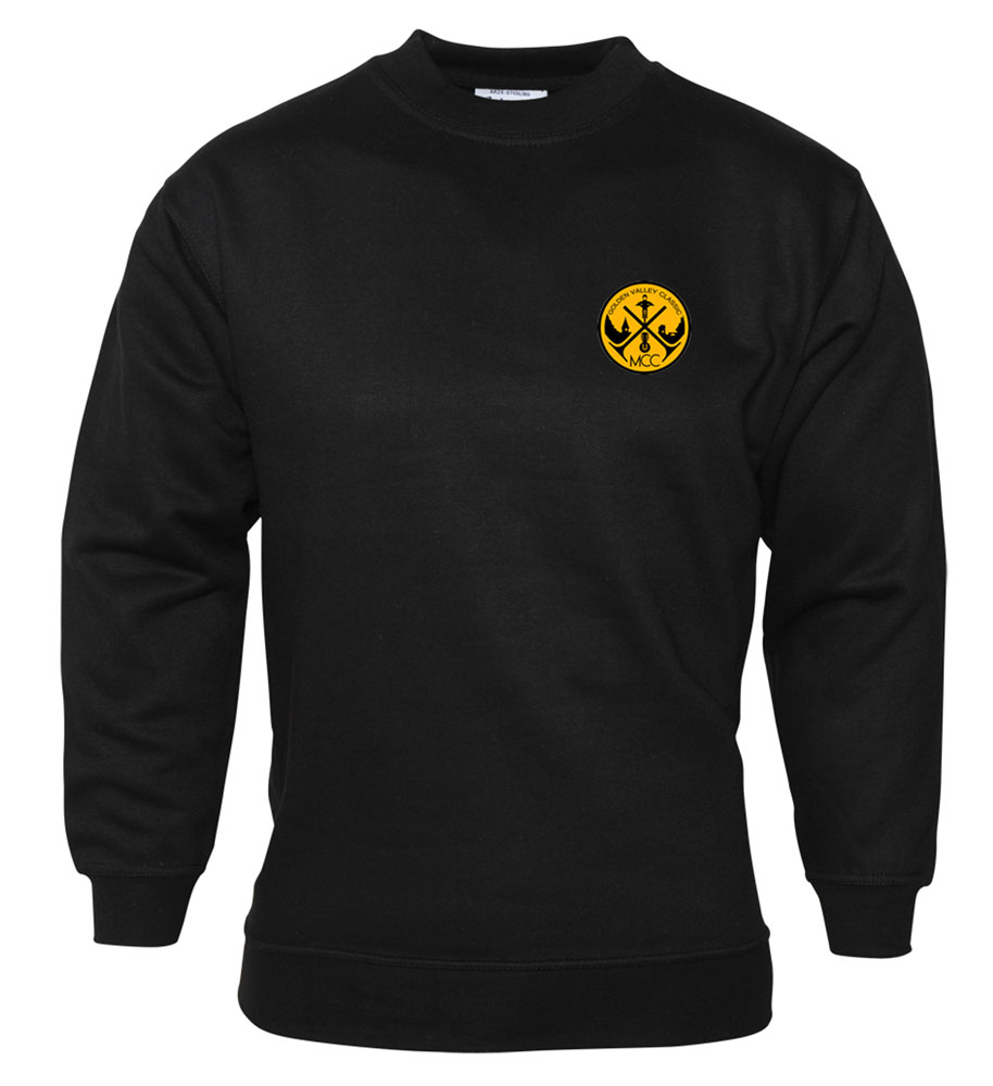 Sweatshirt (GVCMC logo) £12.99 +£5.00PP