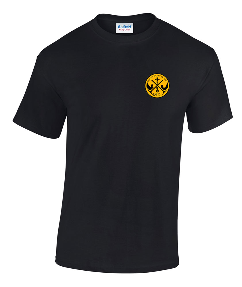 T-shirt (GVCMC logo) £ 9.99 +£2.50PP